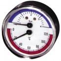 Termomanometro 0°-120°C - 0-4 bar Ø 63mm