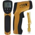 Termometro a infrarossi e termocoppia tipo K - GALAXAIR : TIR-30K