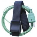 """Sonda a contatto con""""Velcro"""" termocoppia tipo K -50°C/+145°C - GALAXAIR : K-VEL"""