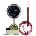 Termostato regolazione acqua a bulbo AB 224 L TU-F 30/90°
