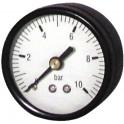 Manometro 0-10 bar Ø 50mm