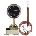 Termostato regolazione acqua a bulbo AB 224 L TU-F 30/90° - DIFF