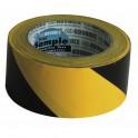 Nastro adesivo per delimitazioni giallo/nero
