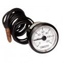 Termometro rotondo da 20° a +120°C  Ø 43mm cap 1500 con guaina - DIFF