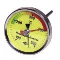 Termometro fumi rotondo 100°-500°C - DIFF
